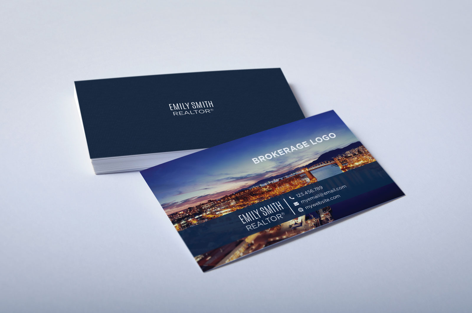 Free Real Estate Agent Business Card Download #1