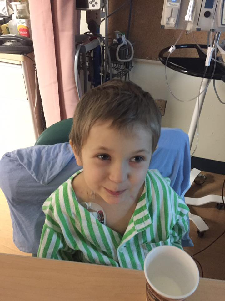 Thorsten & Bianca's son, Eli - diagnosed with Leukemia before Christmas