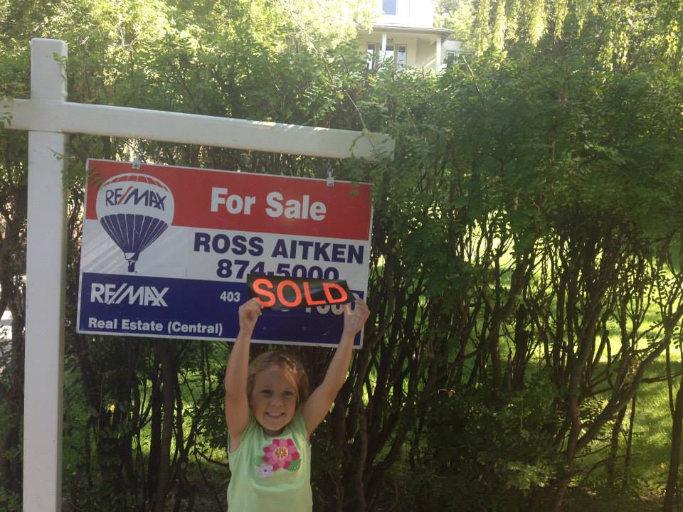 SOLD by Ross Aitken!