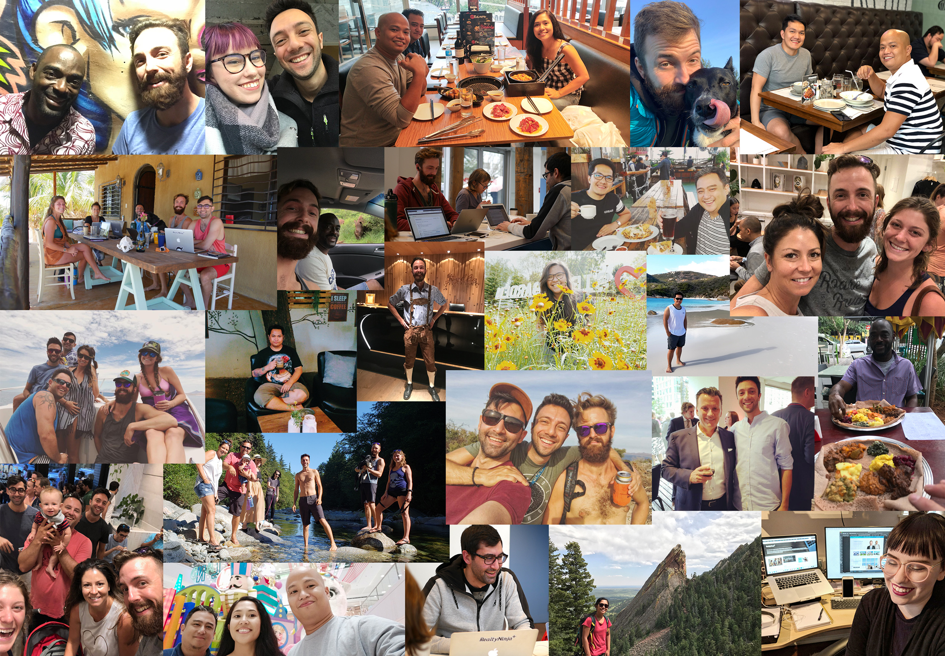 2018 RealtyNinja Team Collage