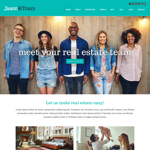 Katana REALTOR Website Mockup 2