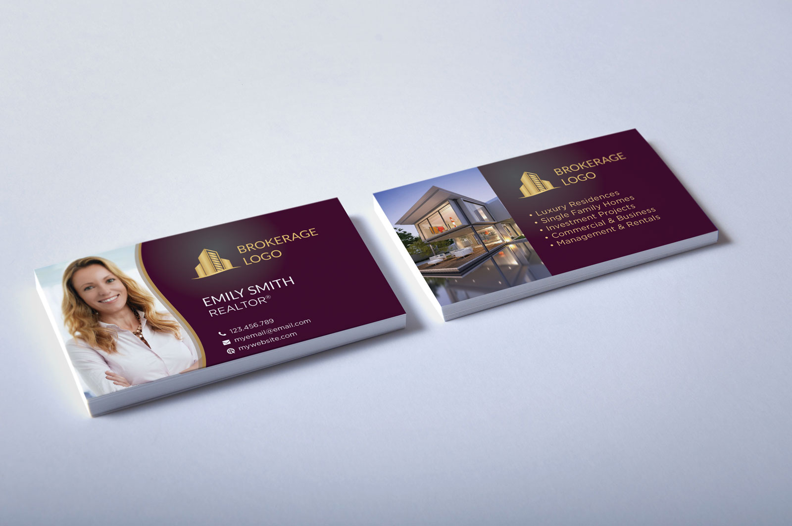 Free Real Estate Agent Business Card Download #2