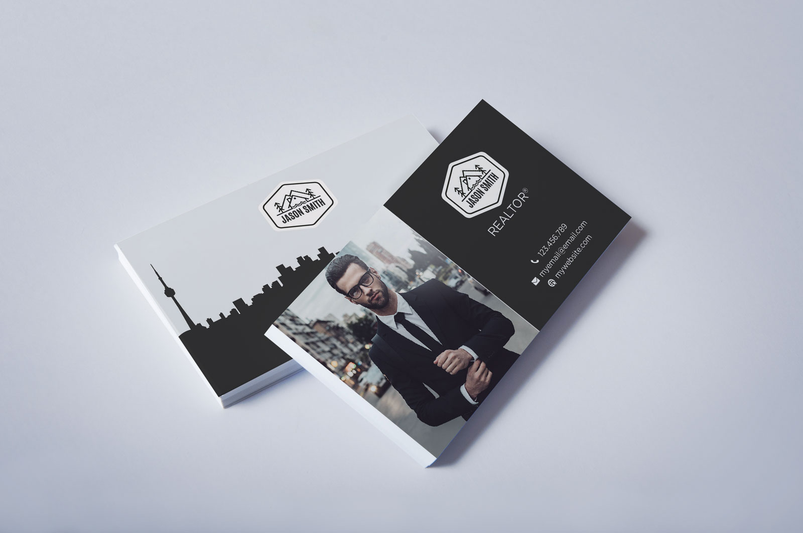 Free Real Estate Agent Business Card Download #3