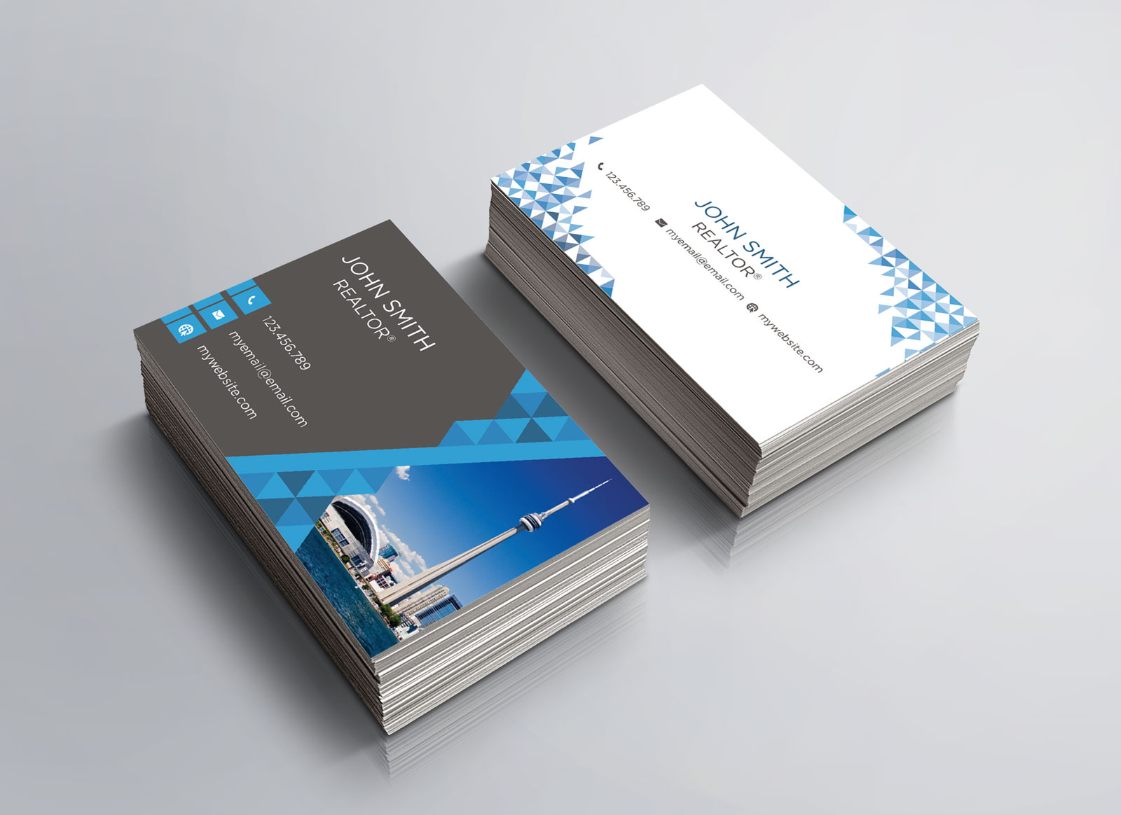 Free Real Estate Agent Business Card Download #4