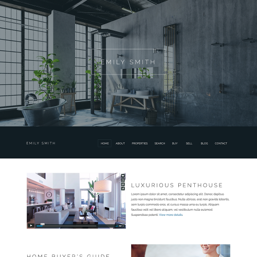 Katana REALTOR Website Mockup 6