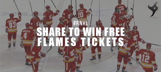 Calgary Flames GIveaway