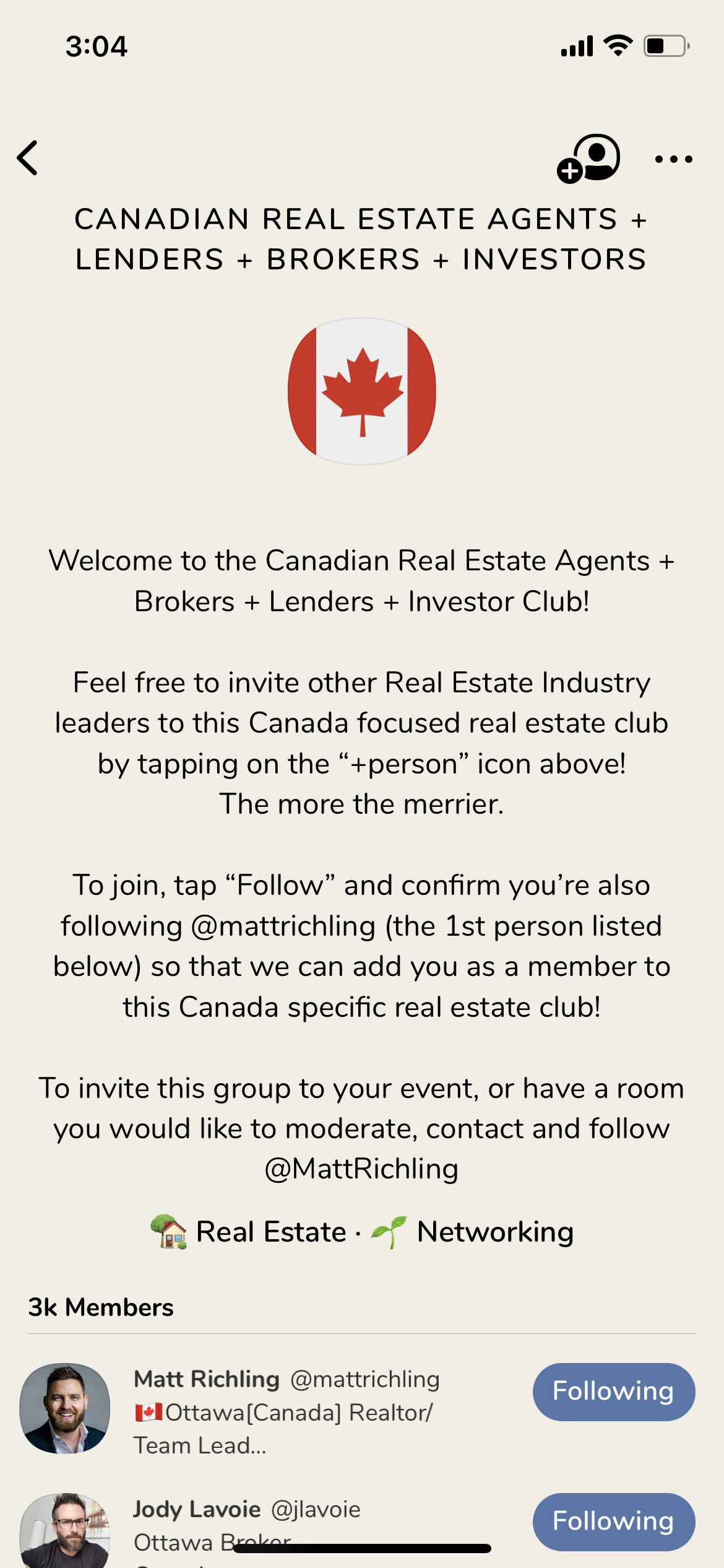 Canadian Real Estate Club - Clubhouse for Realtors
