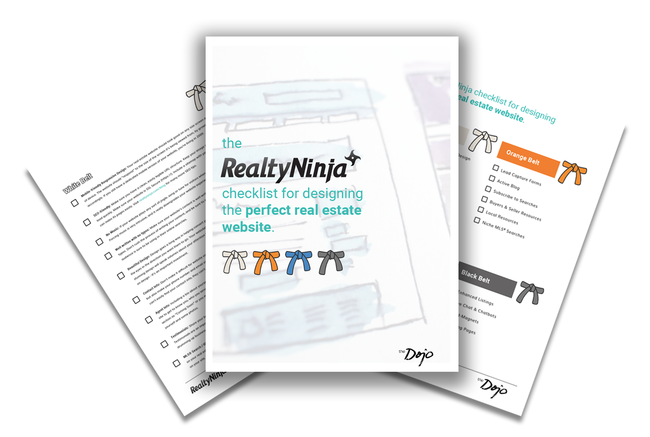 Download Free Checklist - How to design the perfect real estate website