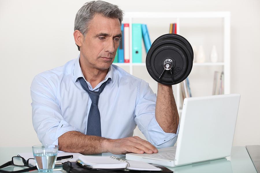 Desk workouts
