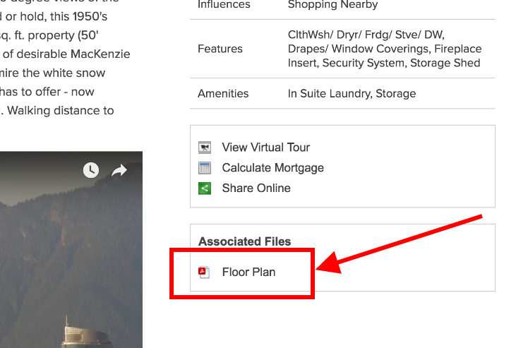 Attach a PDF floor plan and more to your enhanced listing