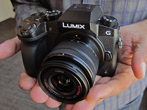 Panasonic LUMIX G7 DSLR Camera 4K Video