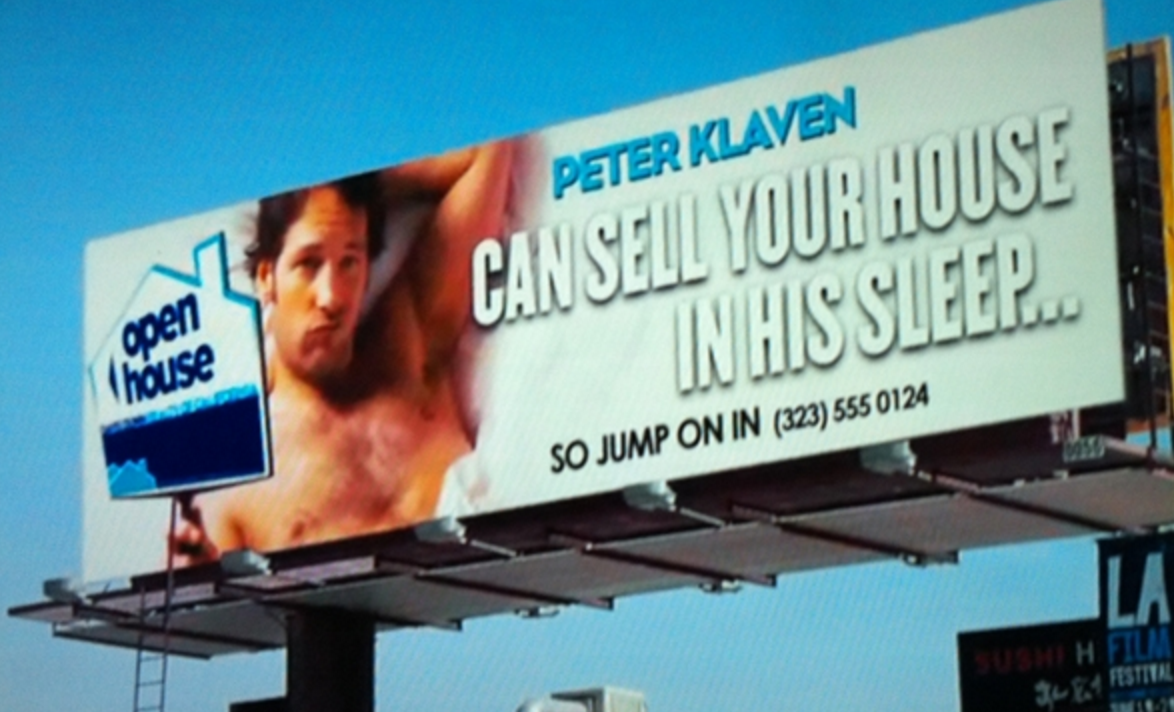 Peter Klaven can sell your house in his sleep...