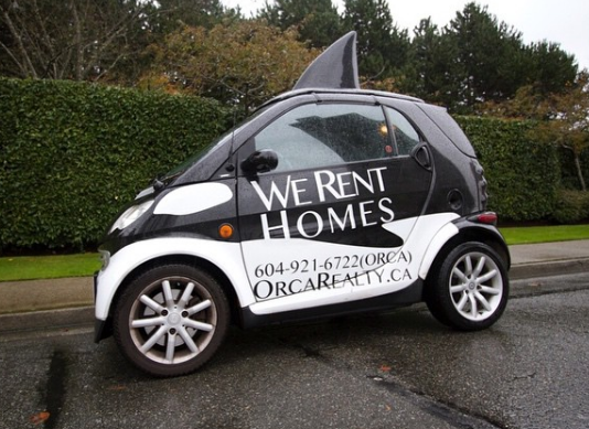 Orca Realty Company Car West Vancouver