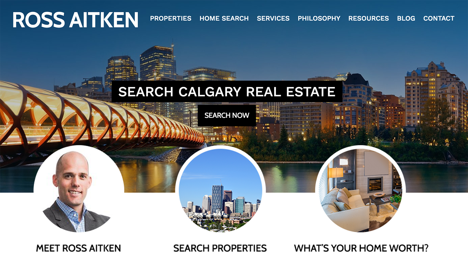 Ross Aitken's REALTOR® Website Homepage