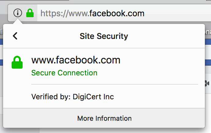 SSL Security at Facebook