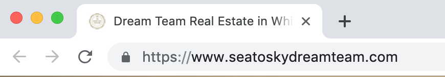 Real Estate Website Domain - SeatoSkyDreamTeam.com
