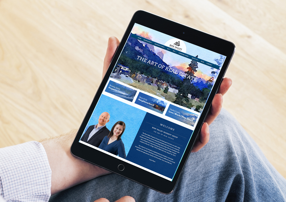 Bow Valley's Real Estate Website with Design Customization by RealtyNinja