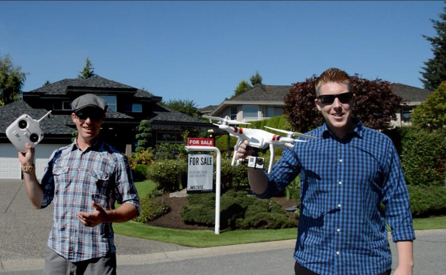 MacNabs Flying Drone GoPro Camera