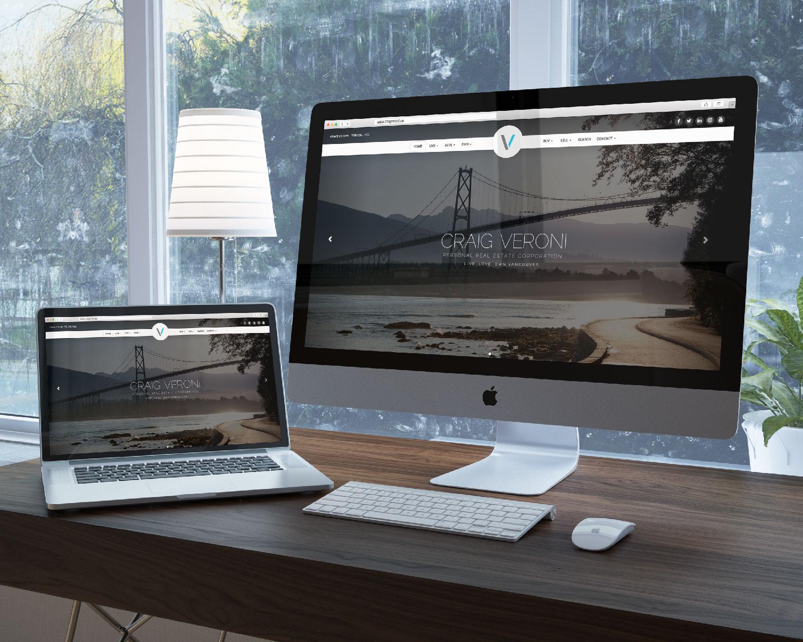 Craig Veroni's Katana Website looks awesome on any device