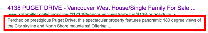 Kate Miller's Awesome Listing Description