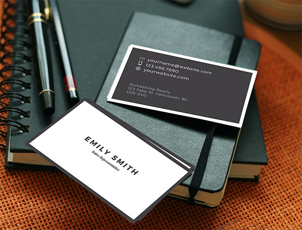 Free luxury real estate business card design the dojo real estate business card design reheart Image collections