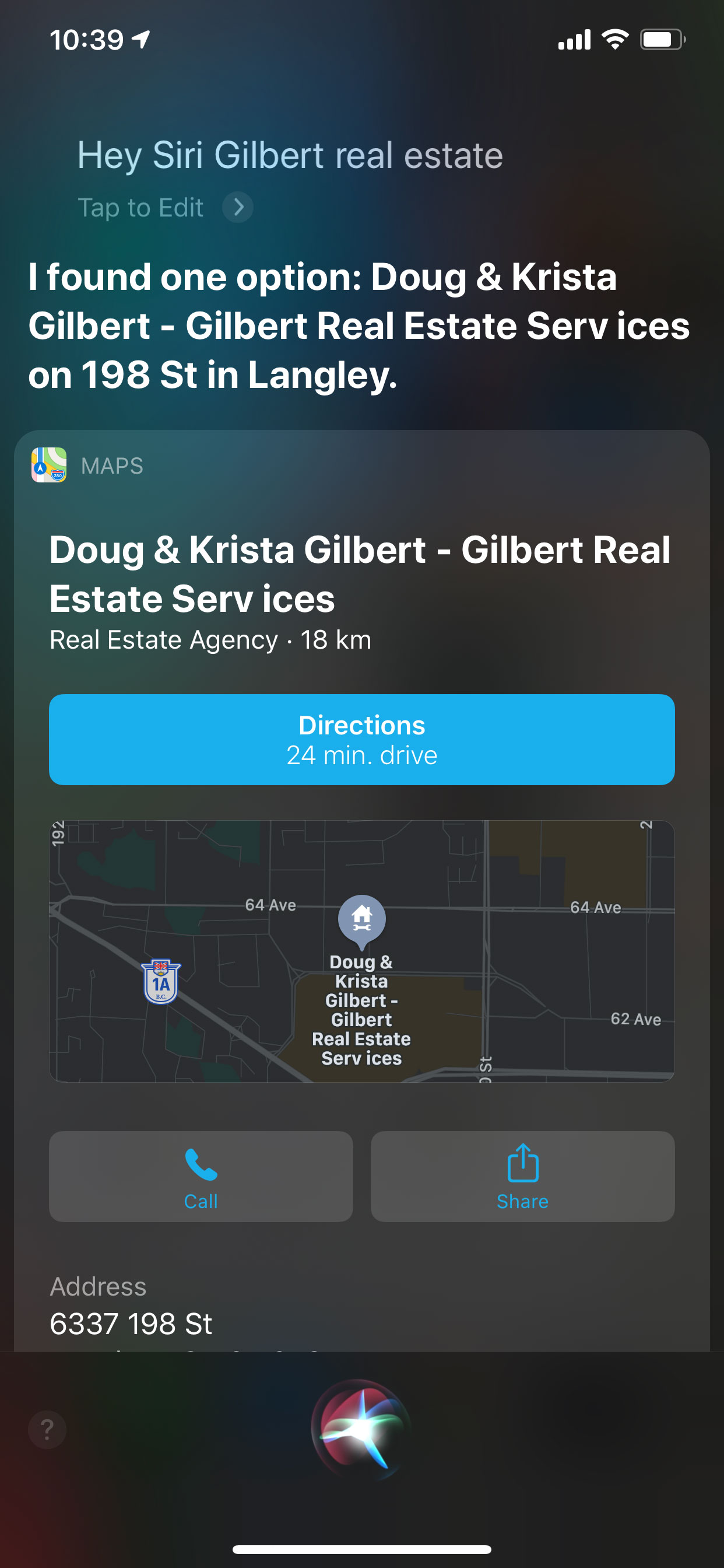 Voice Search - Doug & Krista Gilbert Real Estate Services