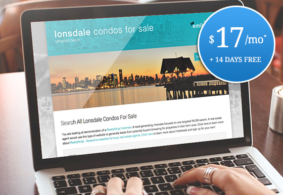 lead-generating micro-websites for realtors
