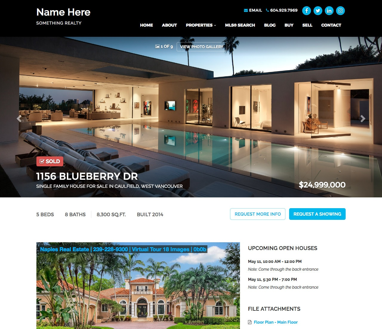 Photo-Prominent Listing Pages