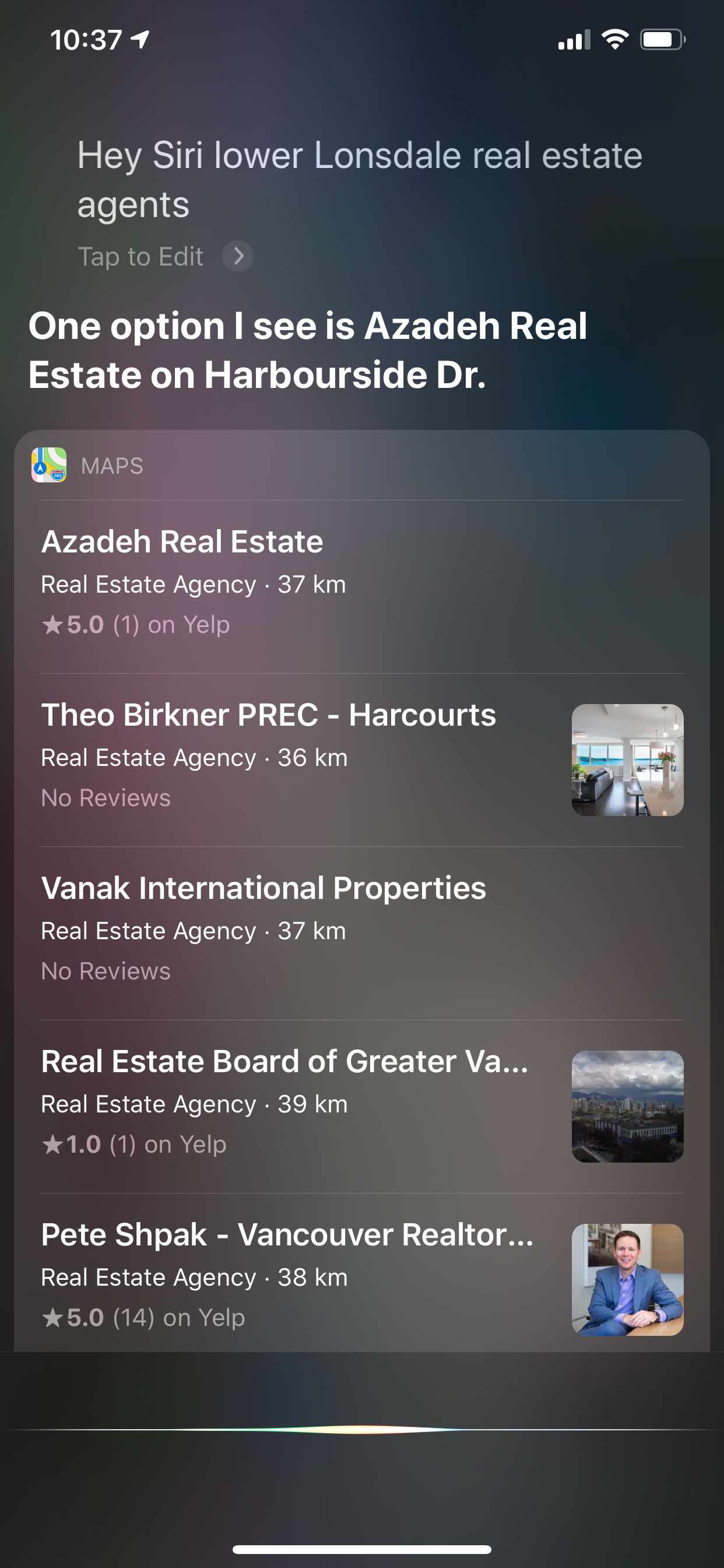 Voice Search - Lower Lonsdale Real Estate Agents