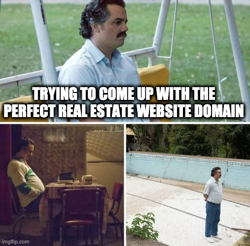 Perfect real estate website domain