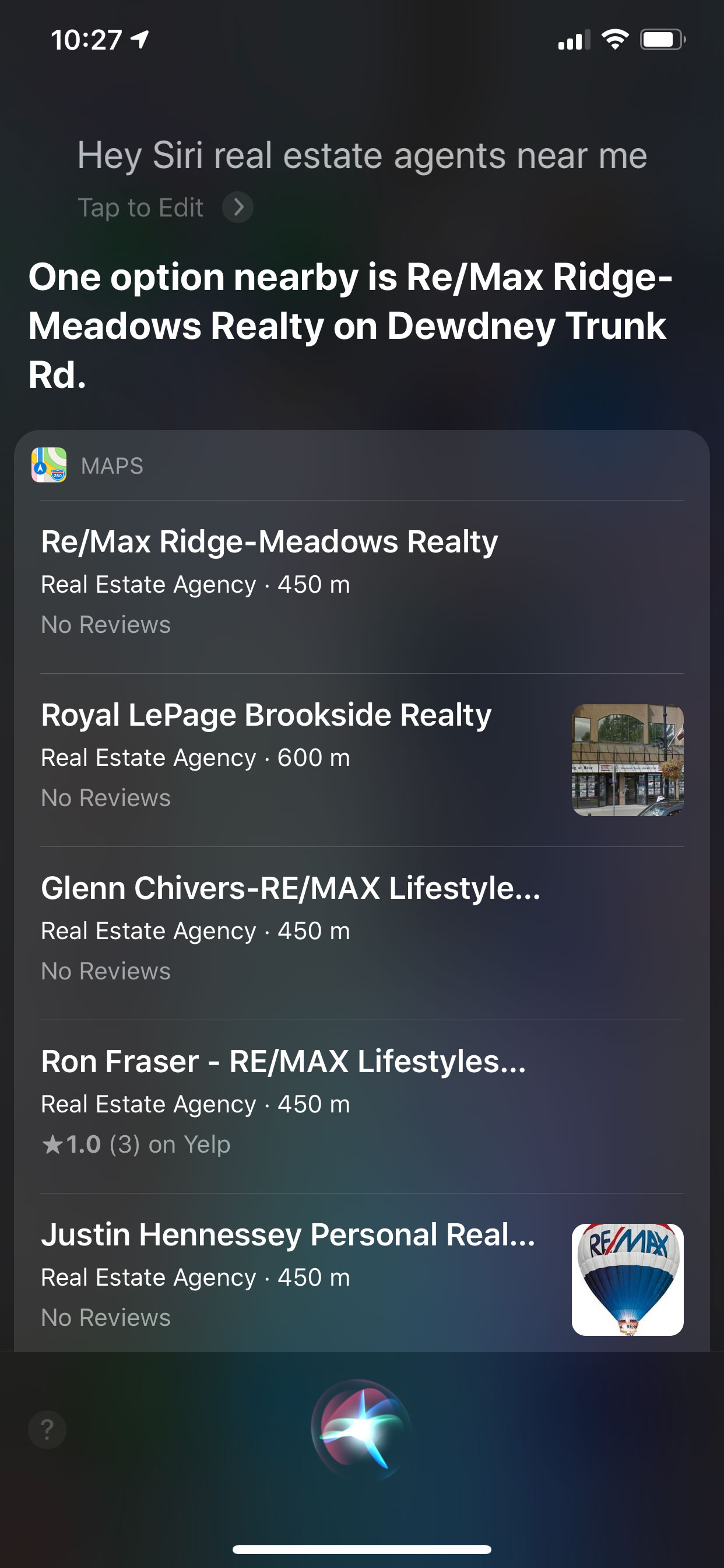 Voice Search - Real Estate Agents Near Me