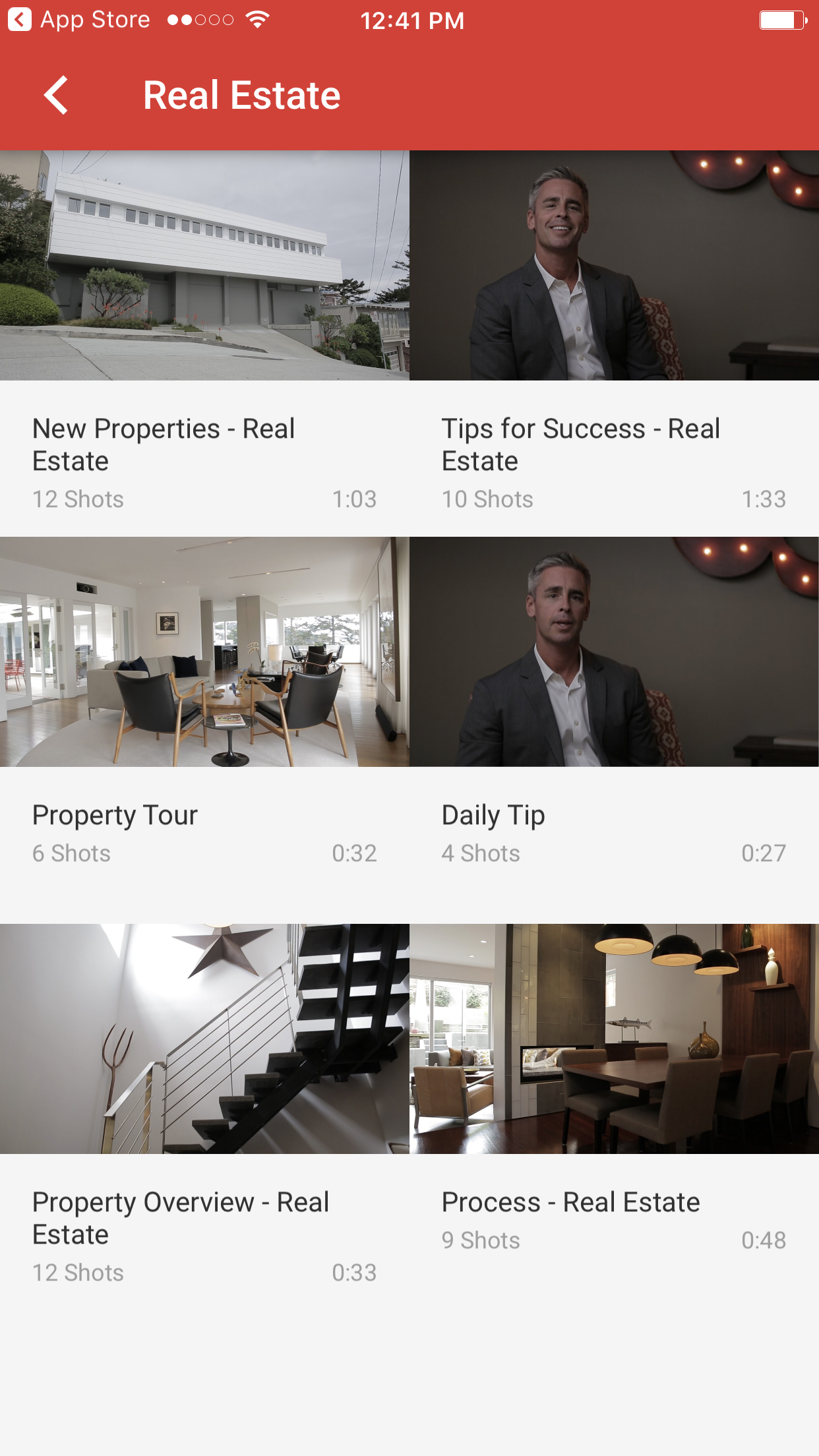 Youtube Director Real Estate Video Templates