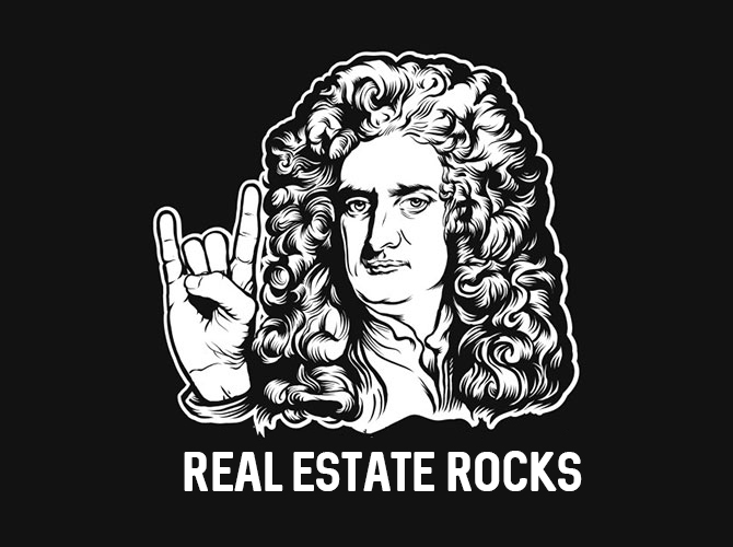 Isaac Newton - Real Estate Rocks