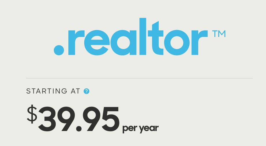 .realtor domain extension