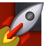 rocketship emoji