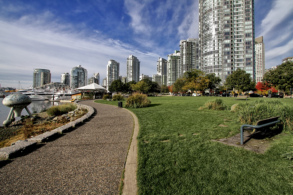 Vancouver False Creek Seawalk
