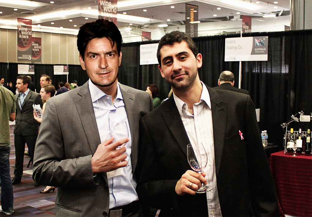 Charlie Sheen and I... real or photoshopped?!