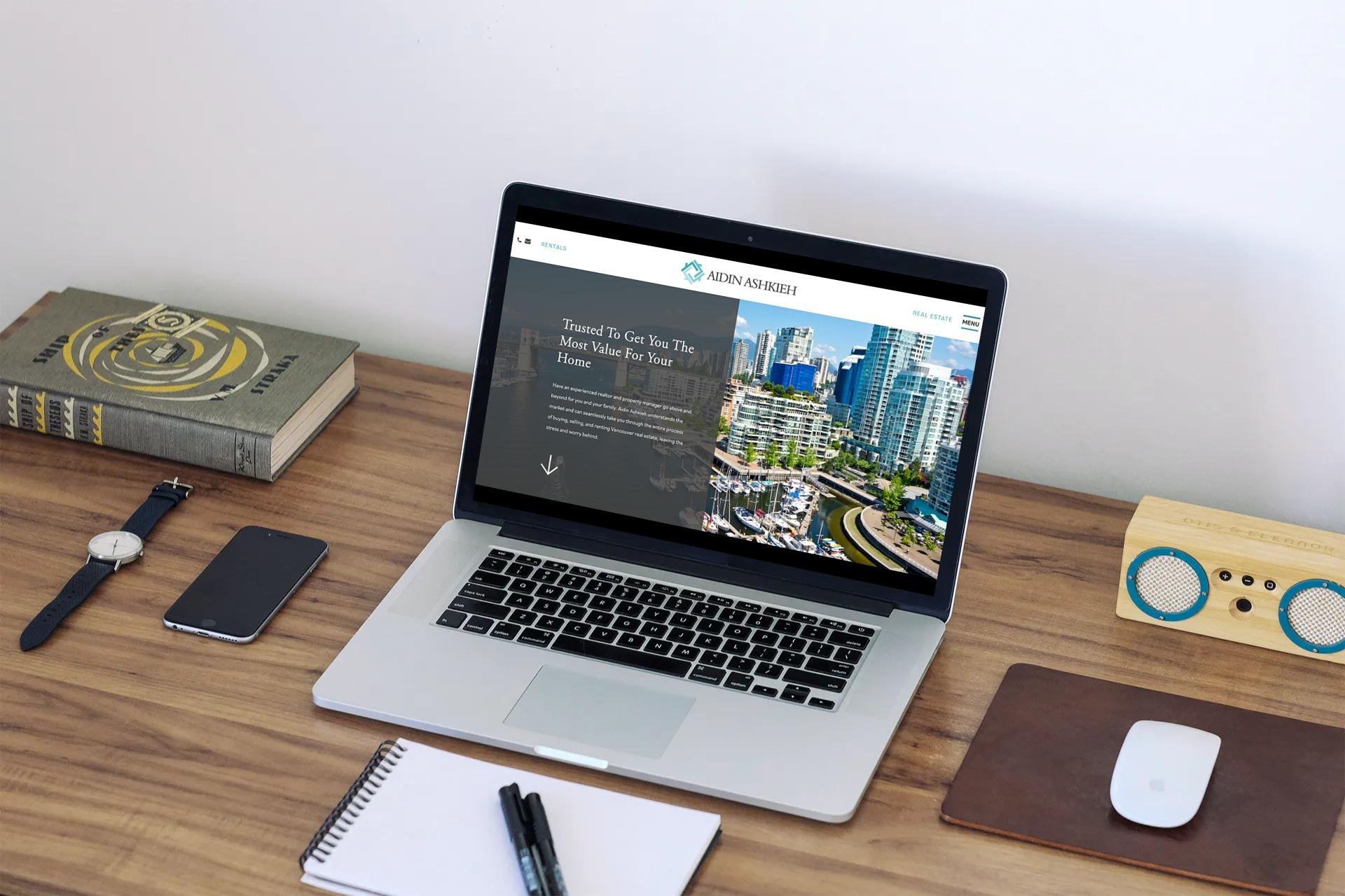 Aidin Homes - Real Estate Website