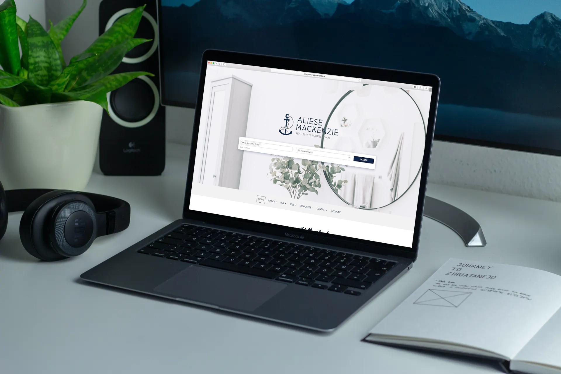 Aliese Mackenzie Real Estate Website