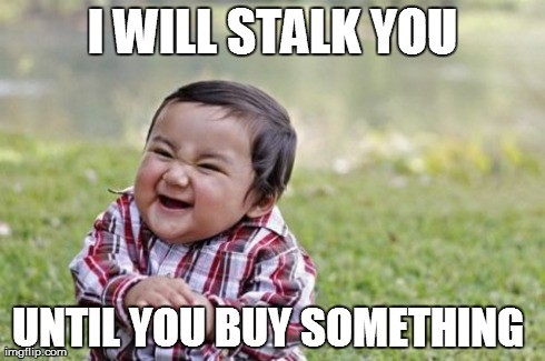 remarketing stalker meme