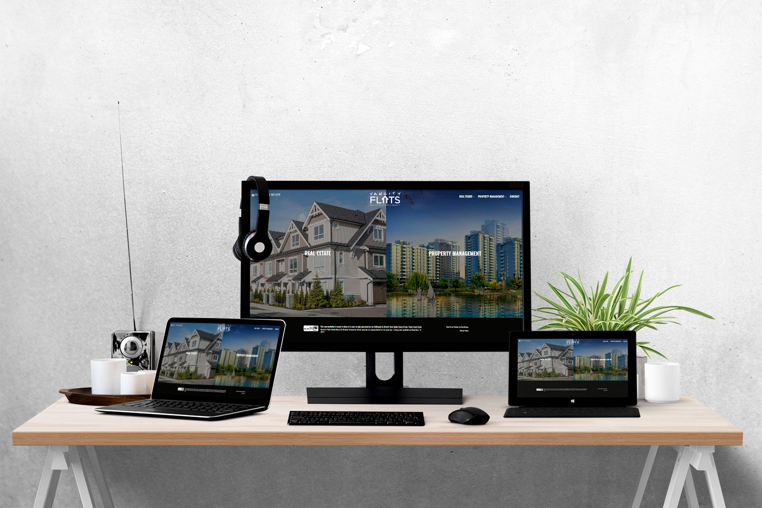 Vancity Flats - Real Estate Website with Design Customization by RealtyNinja