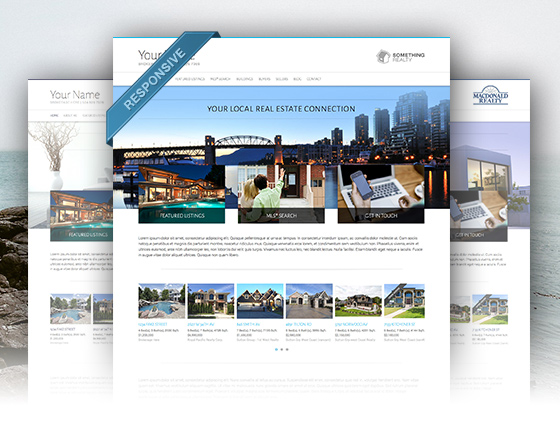 real estate agent website designs