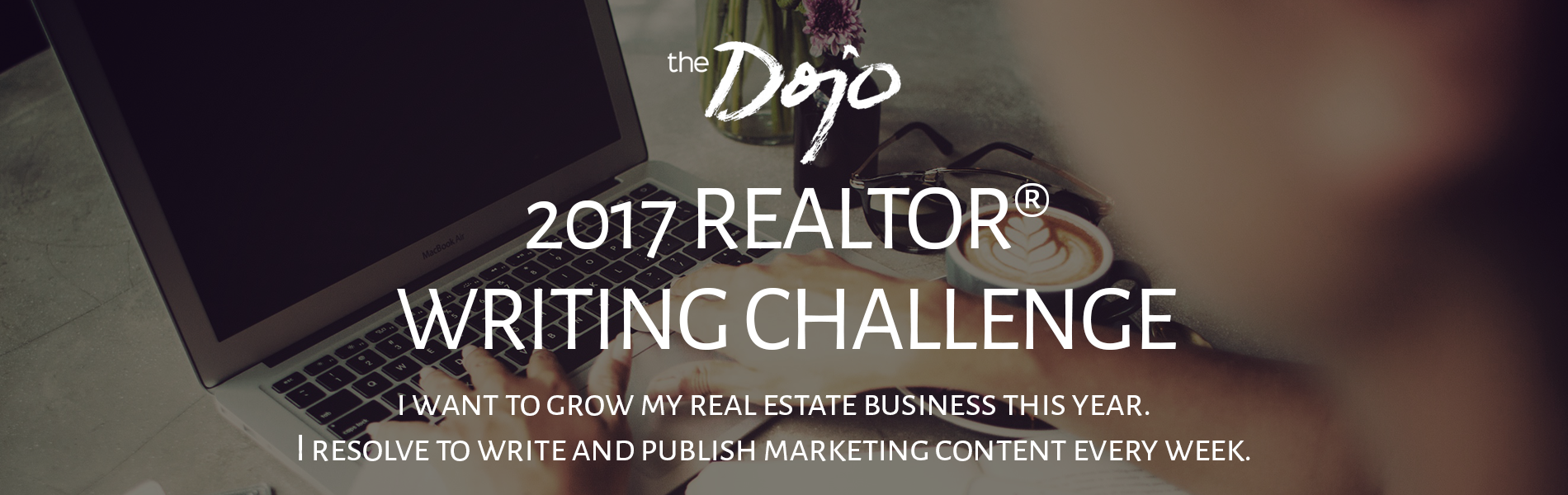 The Dojo is Challenging you to write marketing content every week this year