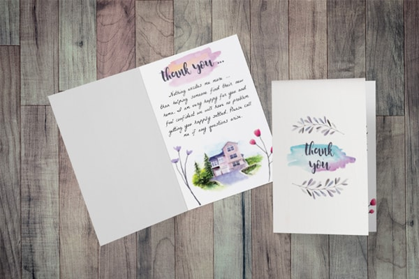 3 Realtor Thank You Cards