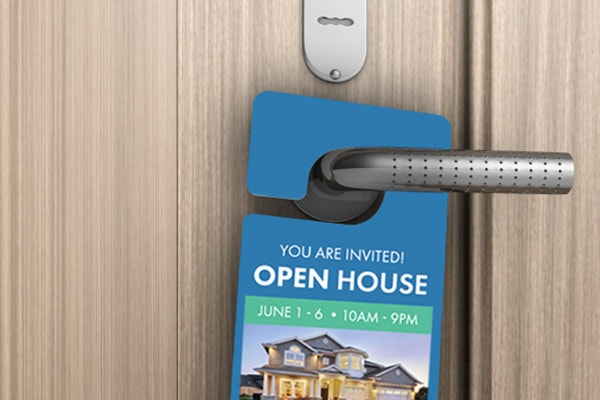 Door Hangers that REALTORS® Can Customize & Print