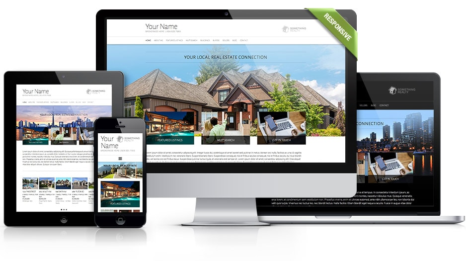 realtor website theme