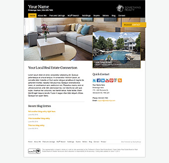 Element Realtor Website Theme