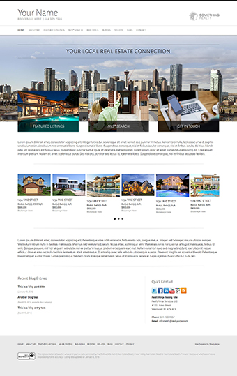Shinobi Realtor Website Theme