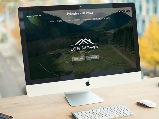 Customized Real Estate Website Example