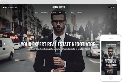 Semi Custom Real Estate Website Theme